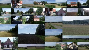 Collage Herrentrup im August 2011