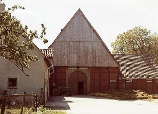 Herrentrup Nr. 1 (Heute Untere Straße 8) , Kuhlemeier, erbaut 15551849