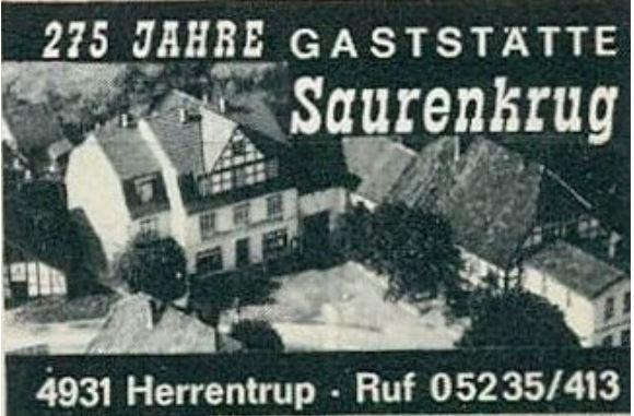 Zündholz-Etikette-Herrentrup